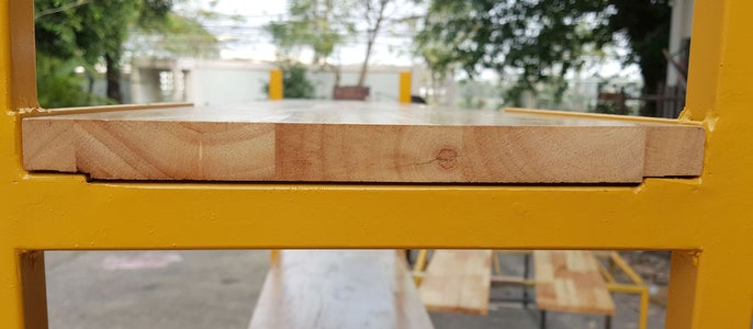 Cut Parawood and Assembly.