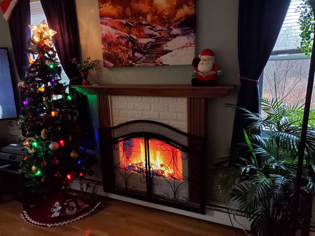 Picture of Digital Fireplace Screen