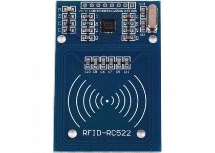 RFID Reader and Tags.