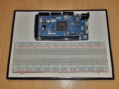 Arduino & Breadboard Holder