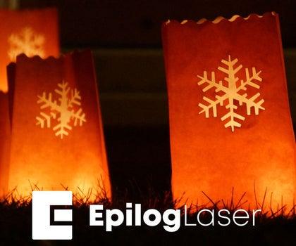 Laser Cut Luminaria Bags