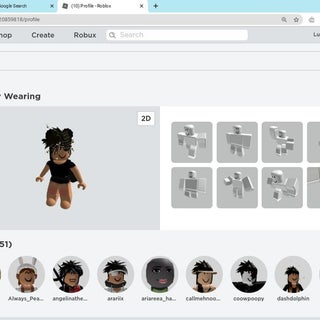 Aesthetic Roblox Free Hair Girl How To Look Popular In Roblox 9 Steps Instructables