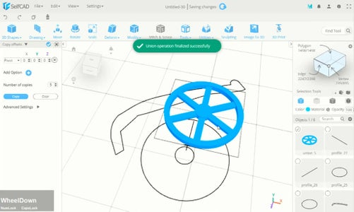 Creating 3D Tire