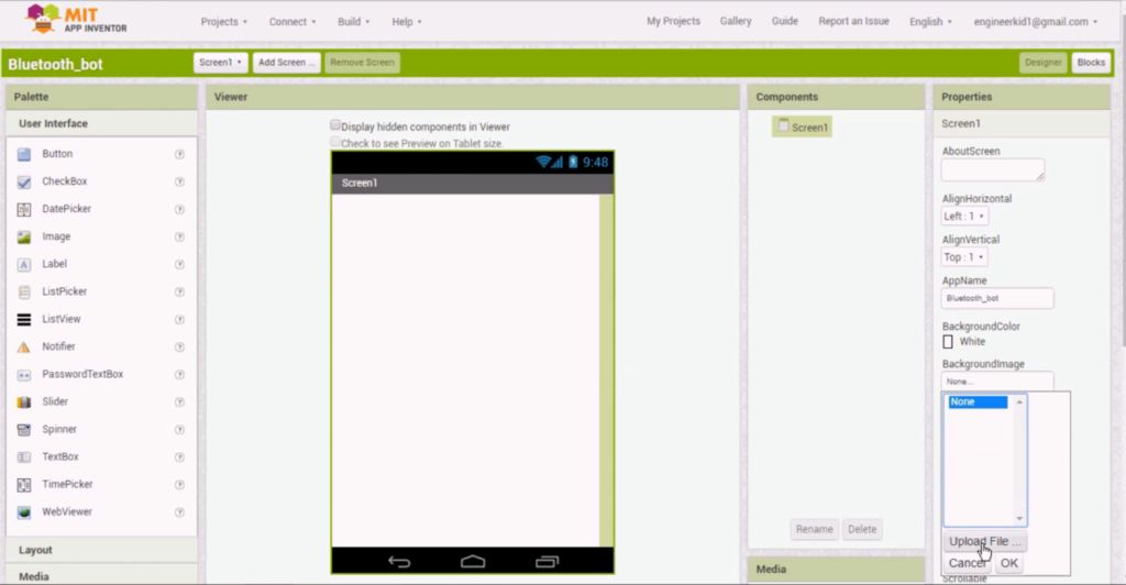 Picture of Making of the Android Application