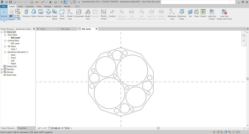 Picture of Design Apollonian Gasket