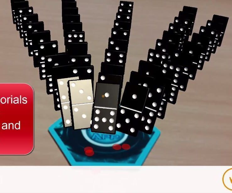 Augmented Reality Tutorial: Dominoes Game
