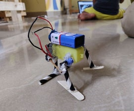 THE CUTEST WALKING ROBOT