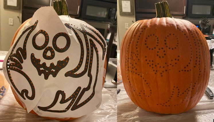 Picture of Draw Your Design on Your Pumpkin.