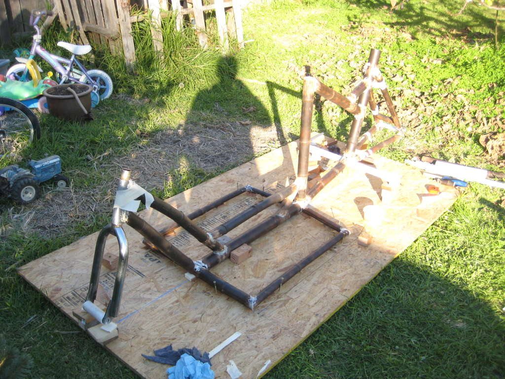 Picture of Start Building - Cut Your Bamboo and Jig It!