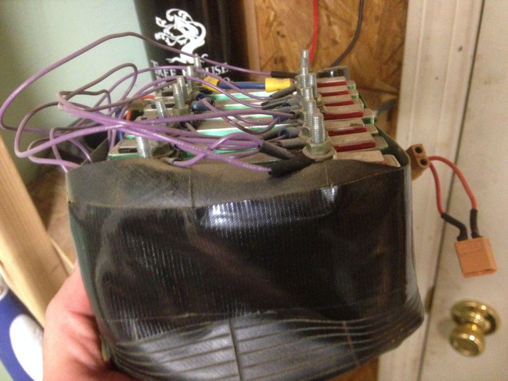 电池制作和测试图片