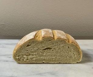Cob面包:简单,检疫友好的白面包