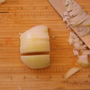 Chopping Veggies for Tod Mon