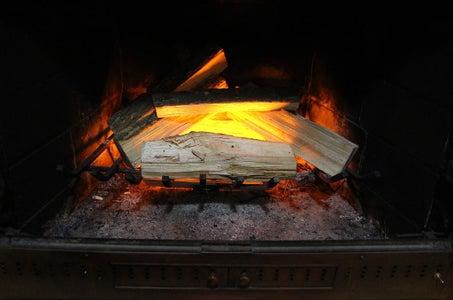 LED Fireplace Insert
