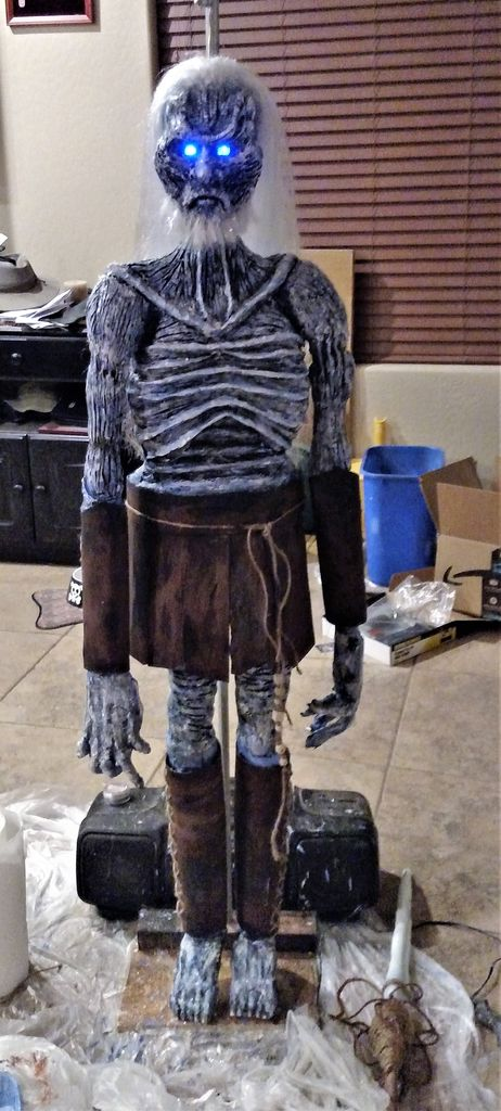 Picture of Game of Thrones White Walker Halloween Standing Decoration
