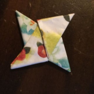 How to Make an Origami Ninja Star (Shuriken) - Double-Sided ... | 320x320