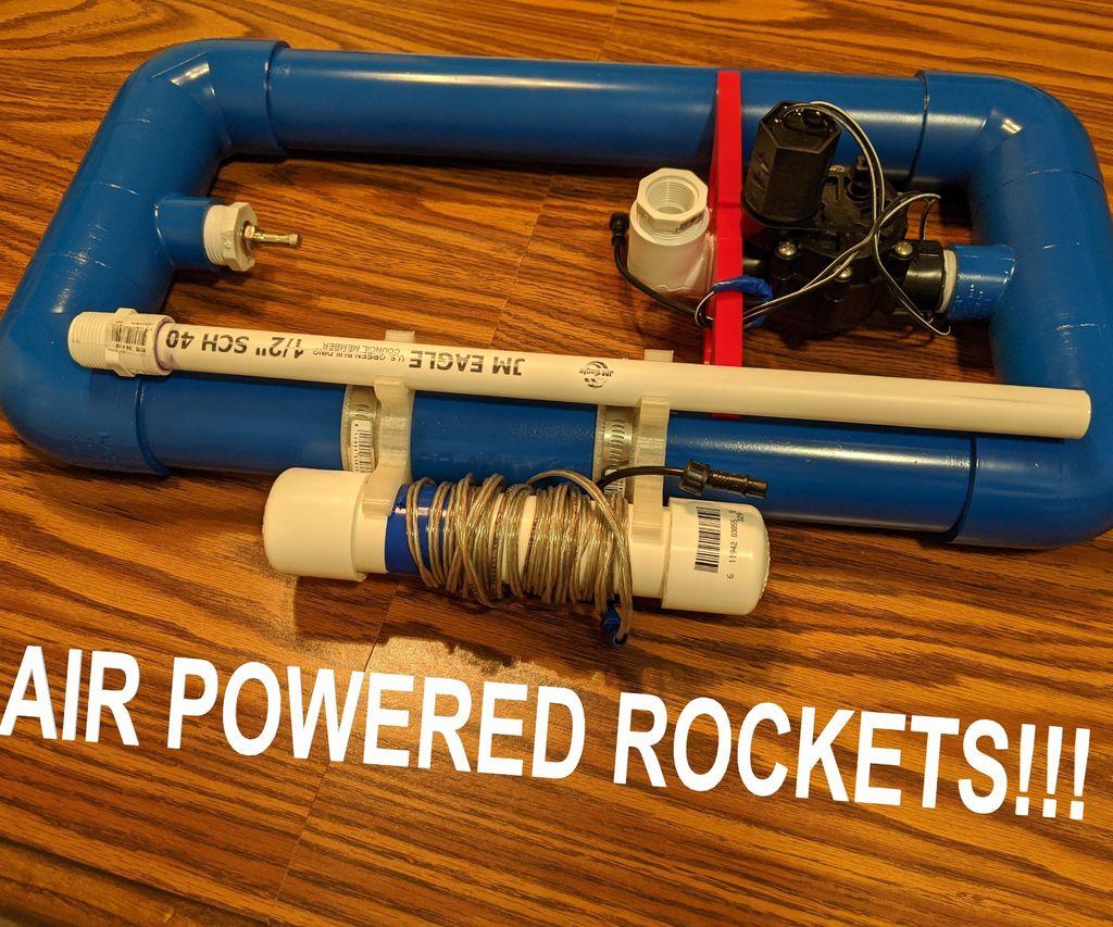 Air Powered Rocket Launcher