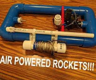 Air Powered Rocket Launcher