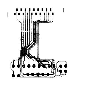 Contruct Image for Traces and Pads on FPC