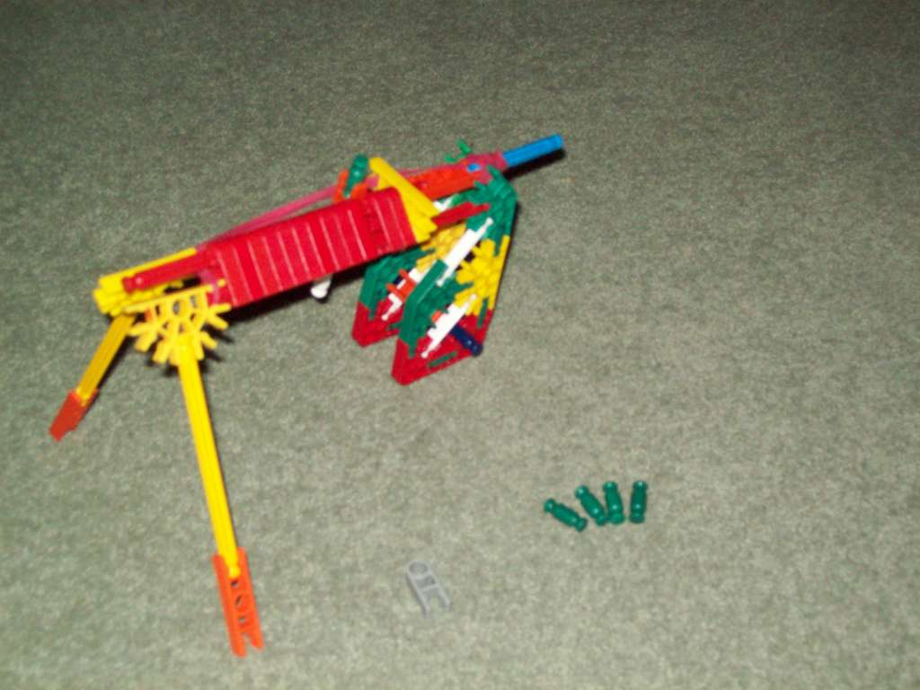 Picture of Knex Gun (model)