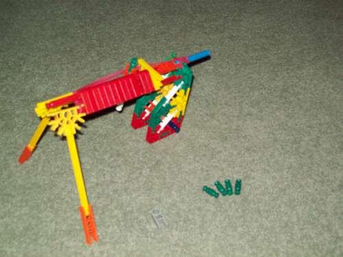 Picture of Knex Gun (model)