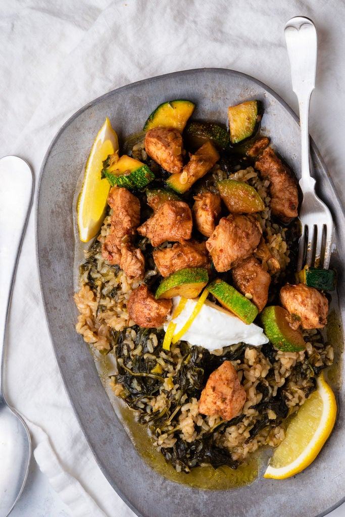 Picture of Dinner Is in the Bag With This Miracle Chicken and Zucchini