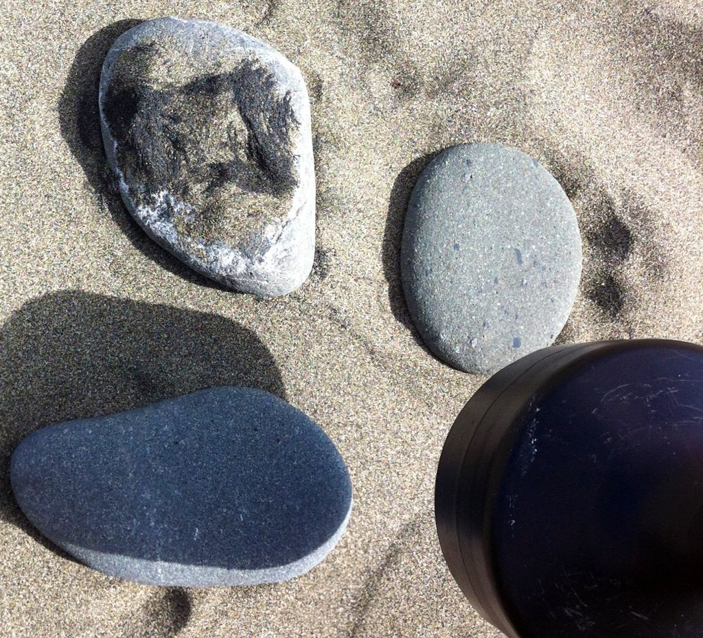 Picture of Seperation of IRON  From Sand