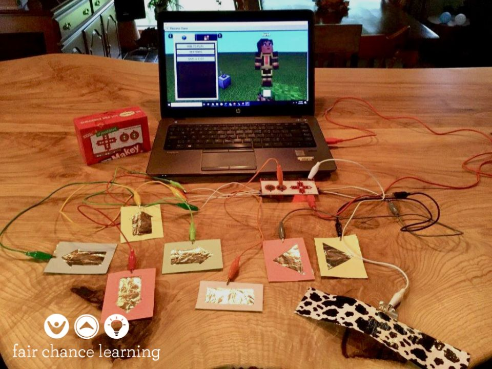 Picture of Makey Makey Minecraft Controller