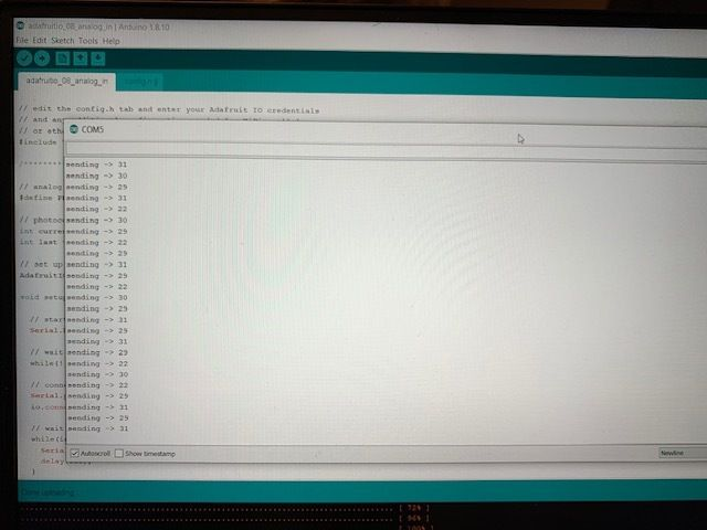 Picture of Arduino Input