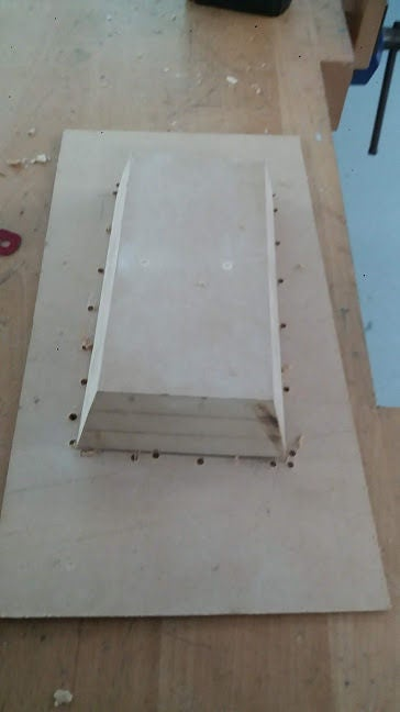 Picture of Making the Enclosure for the Battery and Electronics