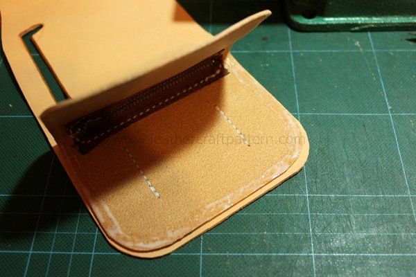 Picture of Paint Glue on Edge, Polish the Edge and Sew Edges Together.
