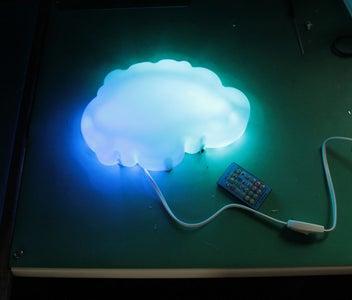 Pixel Cloud Ambient Wall Light