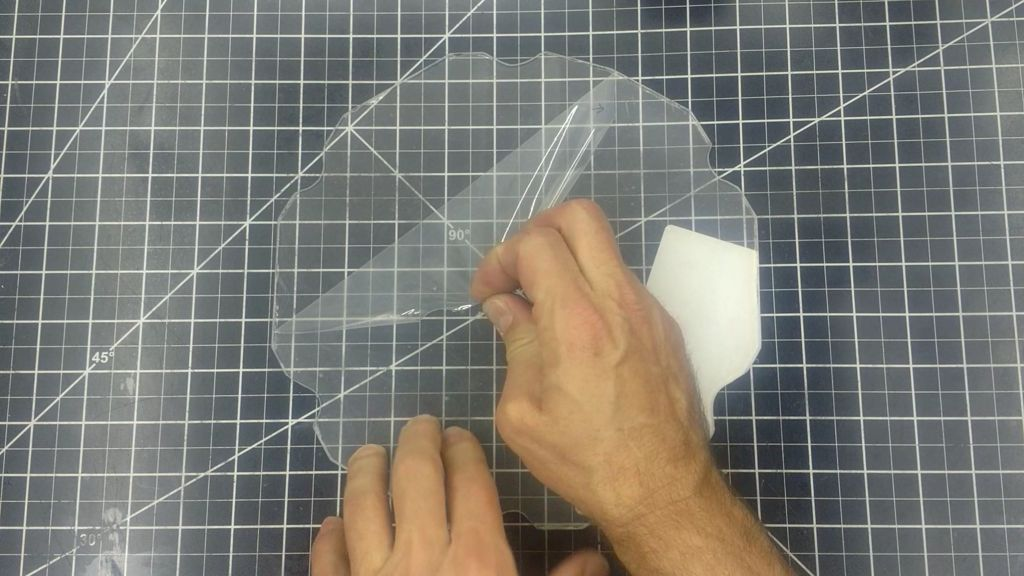 Picture of Cut and Prepare the Front Plastic