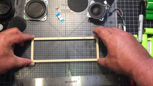 Make a Bracket to Sit the Amp On
