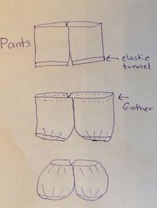 Make a Pattern and Sew Body