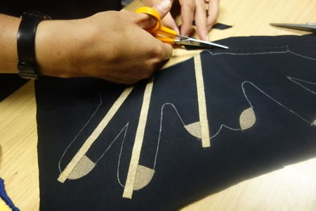 Constructing the Glove Textile