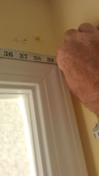 Picture of Measure the Window You Will Be Covering.