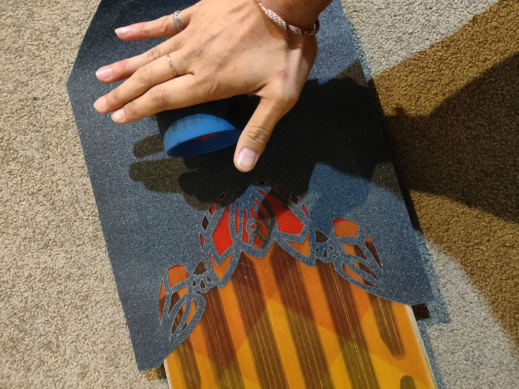 Picture of Applying the Griptape