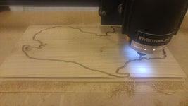 Cut on a CNC