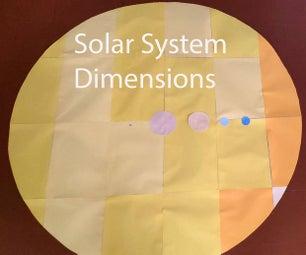 太阳能系统尺寸