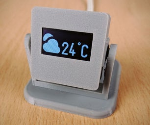 DIY Room Thermometer Using an OLED Module