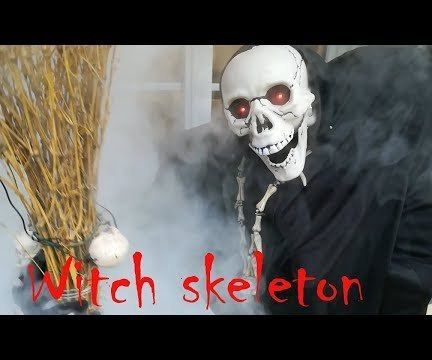 Witch Skeleton (Arduino)
