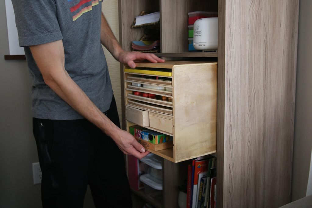 Picture of How to Make a Puzzle Rack