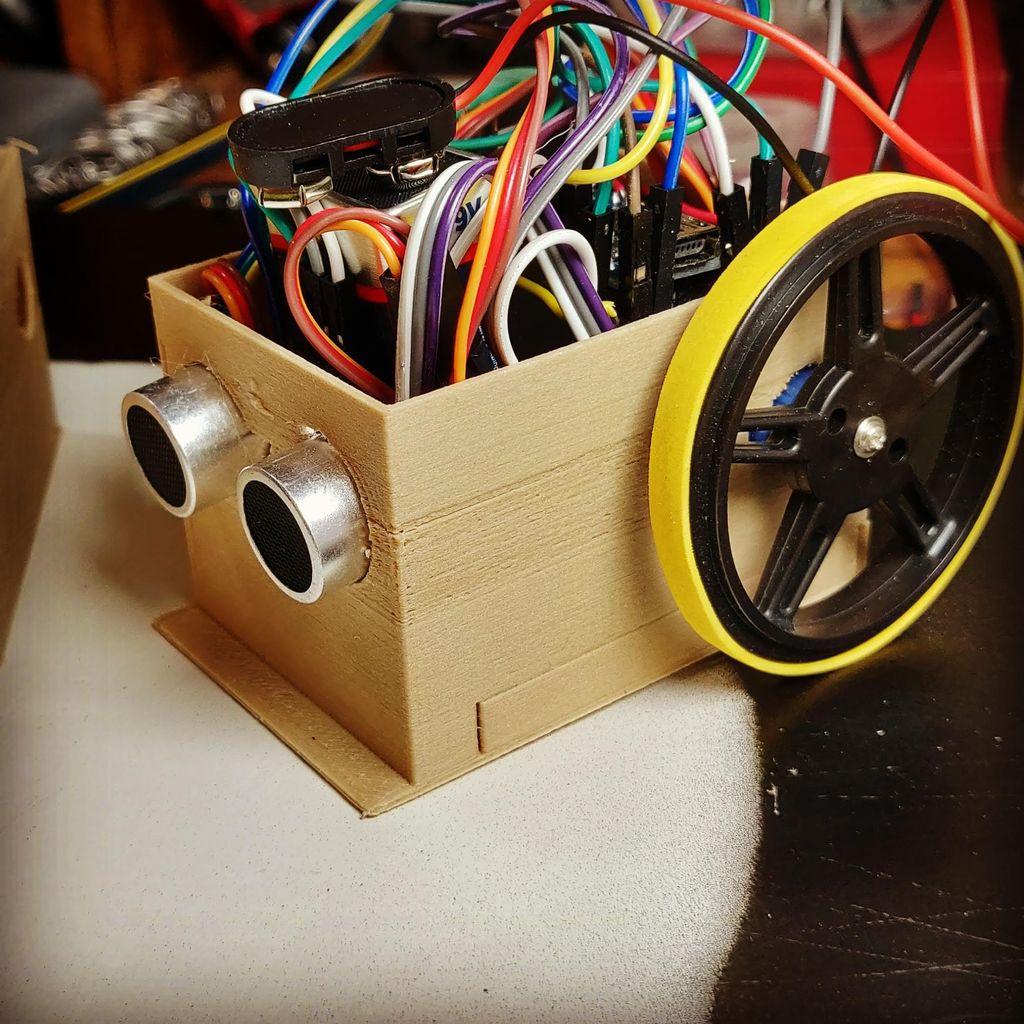 Picture of Super Simple Sumo Bot