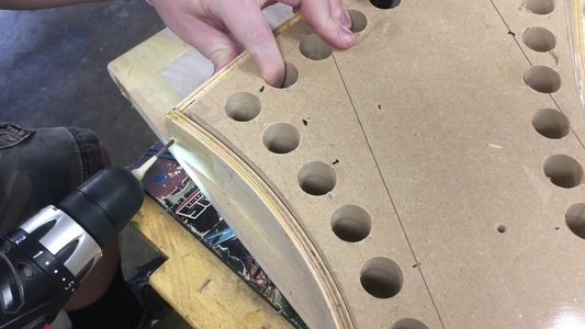 Glue Rim Together and Reinforce With Nails