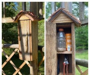 Garden Tool Storage Box