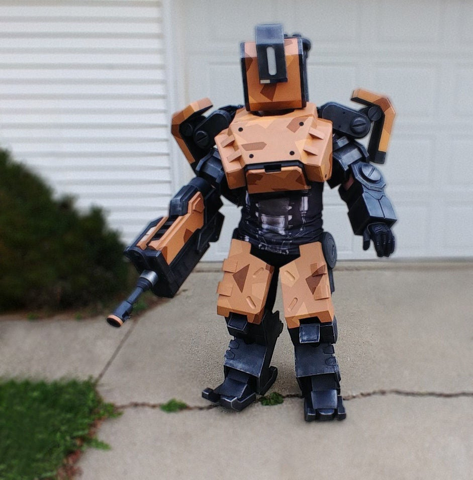 Picture of Robot Costume - Bastion From Overwatch