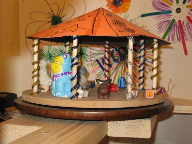 Picture of Servo Controlled Toy Carousel