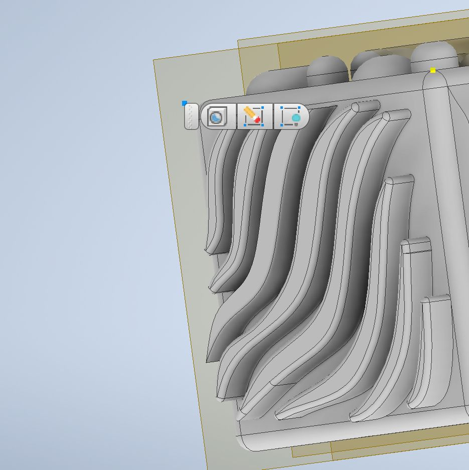 Picture of Sketch and Extrude Waves (Top)