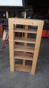Building the Basic Structure of the Shelf.