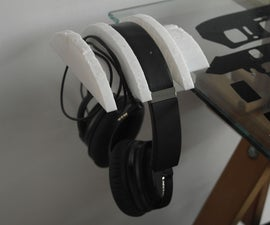Headphones Desk Holder